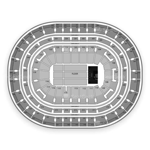 Bell Centre seating chart The Killers