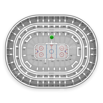 Montreal Canadiens at Bell Centre Section 101 View