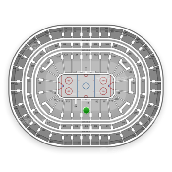 Montreal Canadiens at Bell Centre Section 113 View
