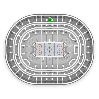 Montreal Canadiens at Bell Centre Section 301 View