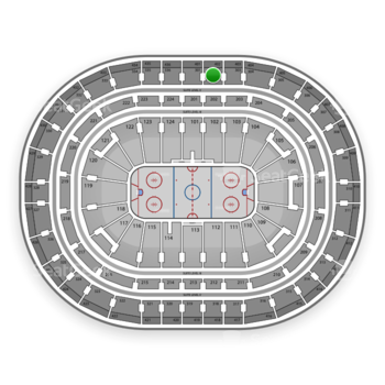 Montreal Canadiens at Bell Centre Section 302 View