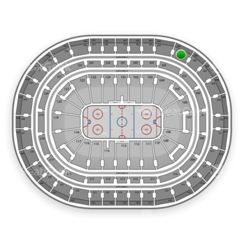 Montreal Canadiens at Bell Centre Section 305 View
