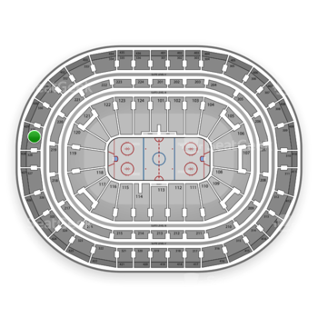Montreal Canadiens at Bell Centre Section 329 View