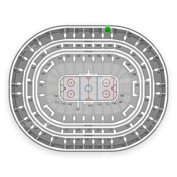 Montreal Canadiens at Bell Centre Section 403 View