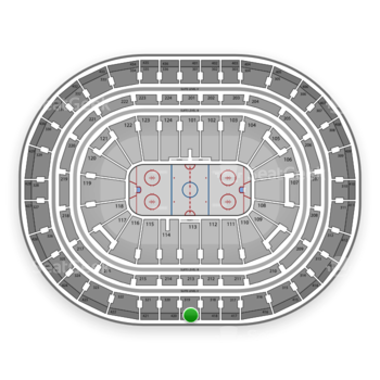 Montreal Canadiens at Bell Centre Section 419 View