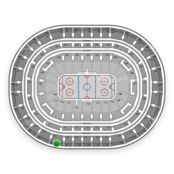Montreal Canadiens at Bell Centre Section 422 View