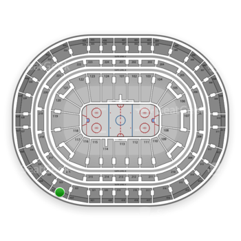 Montreal Canadiens at Bell Centre Section 423 View