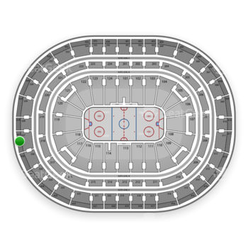 Montreal Canadiens at Bell Centre Section 427 View