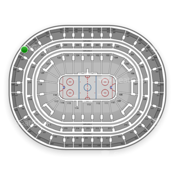 Montreal Canadiens at Bell Centre Section 431 View
