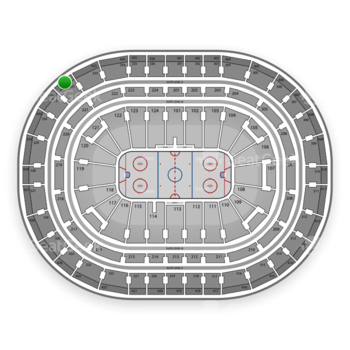 Montreal Canadiens at Bell Centre Section 432 View