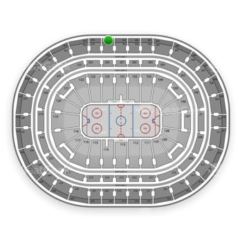 Montreal Canadiens at Bell Centre Section 436 View