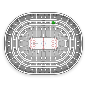 Montreal Canadiens at Bell Centre Section 203 View