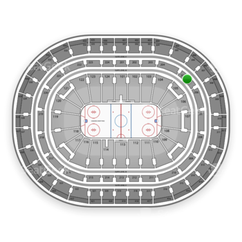 Montreal Canadiens at Bell Centre Section 205 View