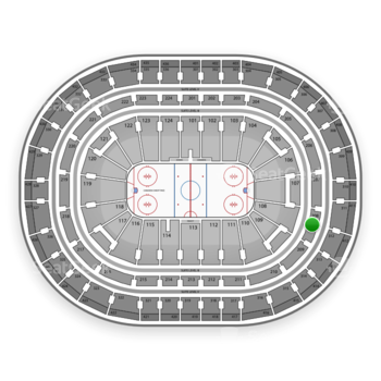 Montreal Canadiens at Bell Centre Section 208 View