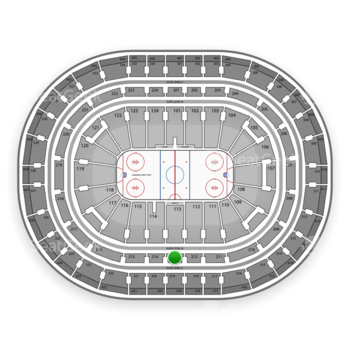 Montreal Canadiens at Bell Centre Section 213 View