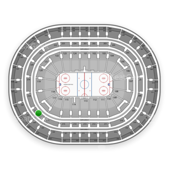 Montreal Canadiens at Bell Centre Section 217 View