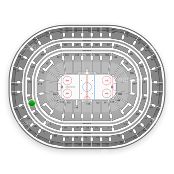 Montreal Canadiens at Bell Centre Section 218 View