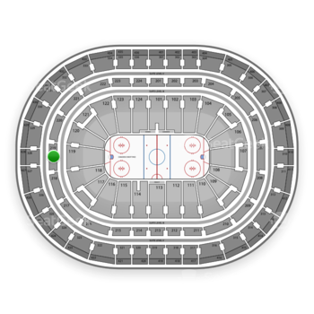 Montreal Canadiens at Bell Centre Section 219 View