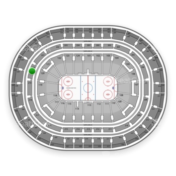 Montreal Canadiens at Bell Centre Section 220 View