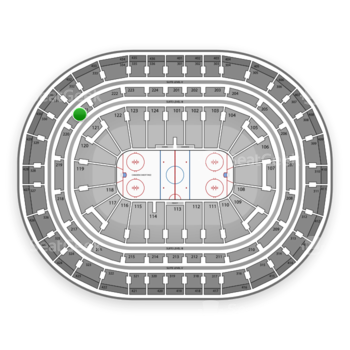 Montreal Canadiens at Bell Centre Section 221 View