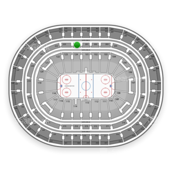Montreal Canadiens at Bell Centre Section 224 View