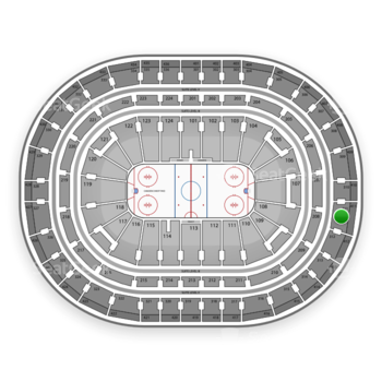 Montreal Canadiens at Bell Centre Section 311 View