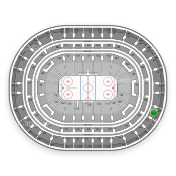 Montreal Canadiens at Bell Centre Section 312 View