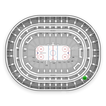 Montreal Canadiens at Bell Centre Section 314 View