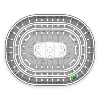 Montreal Canadiens at Bell Centre Section 315 View