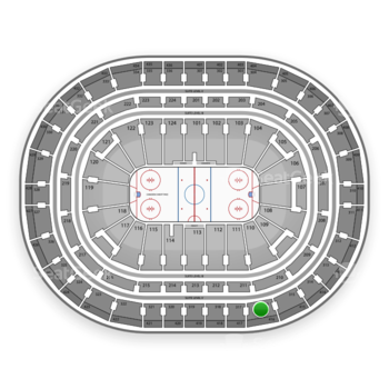 Montreal Canadiens at Bell Centre Section 316 View