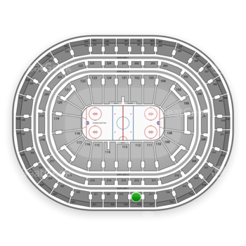 Montreal Canadiens at Bell Centre Section 318 View