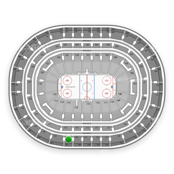 Montreal Canadiens at Bell Centre Section 321 View