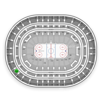 Montreal Canadiens at Bell Centre Section 325 View