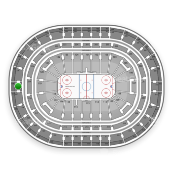 Montreal Canadiens at Bell Centre Section 328 View