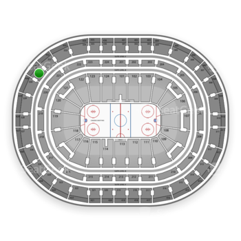 Montreal Canadiens at Bell Centre Section 331 View