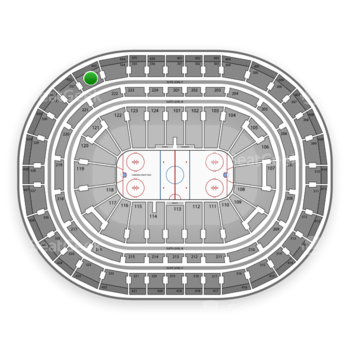Montreal Canadiens at Bell Centre Section 333 View