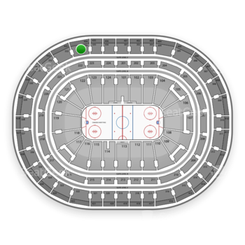 Montreal Canadiens at Bell Centre Section 334 View