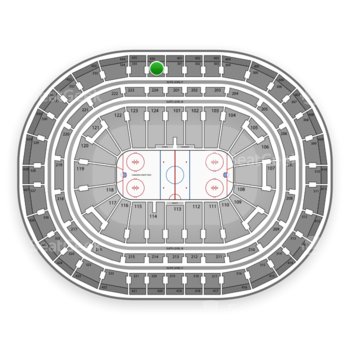 Montreal Canadiens at Bell Centre Section 336 View