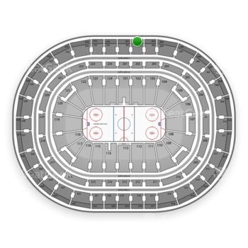 Montreal Canadiens at Bell Centre Section 402 View