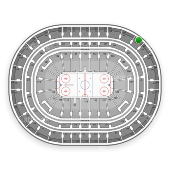 Montreal Canadiens at Bell Centre Section 406 View