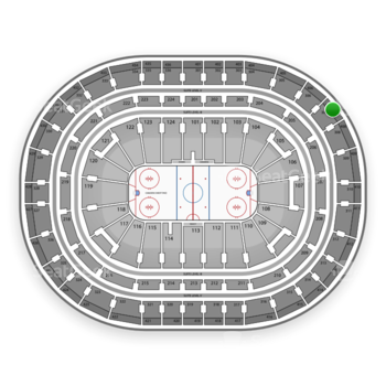 Montreal Canadiens at Bell Centre Section 407 View