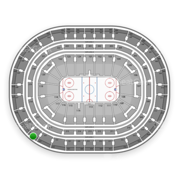 Montreal Canadiens at Bell Centre Section 424 View