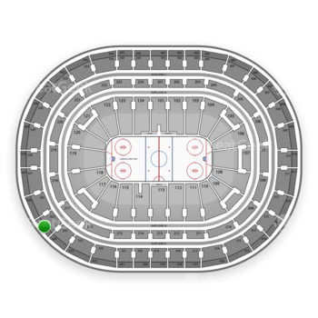 Montreal Canadiens at Bell Centre Section 425 View