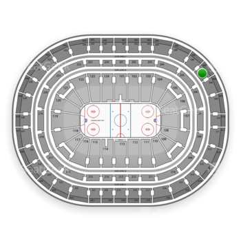 Montreal Canadiens at Bell Centre Section 307 View