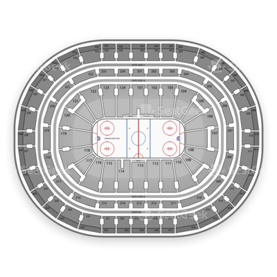 Bell Centre seating chart Montreal Canadiens