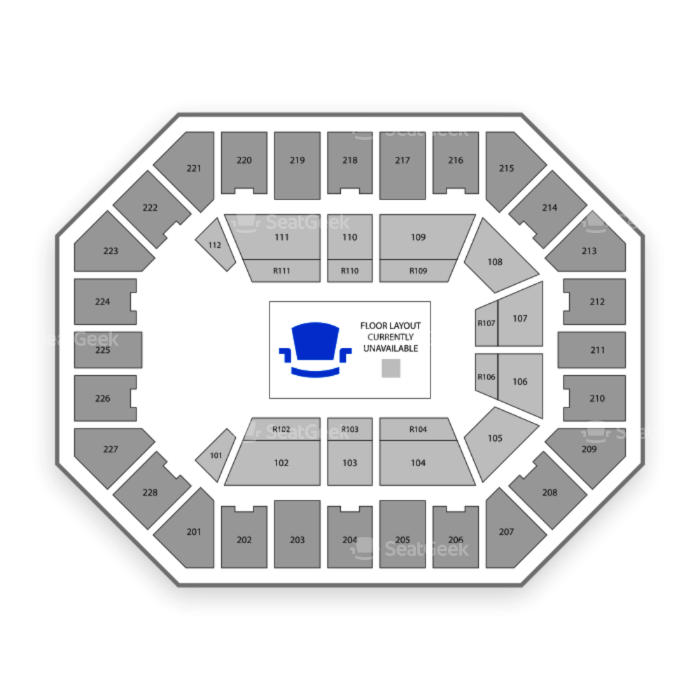 US Cellular Center Seating Chart Concert
