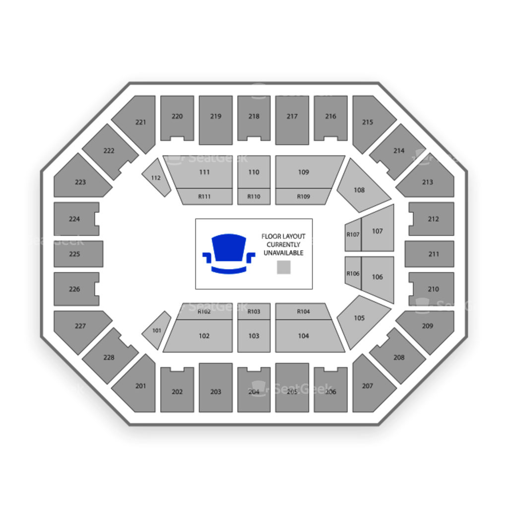 US Cellular Center Seating Chart Interactive Seat Map SeatGeek - Us cellular center seat map