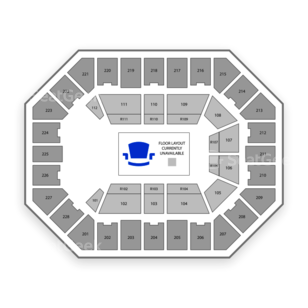U.S. Cellular Center Seating Chart Broadway Tickets National