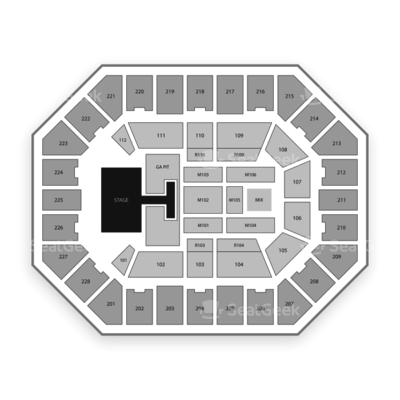 Us Cellular Center Seating Chart Old Dominion