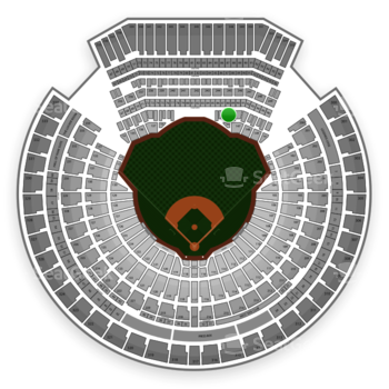 Oakland Athletics at O.co Coliseum Section 146 View
